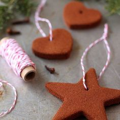 I think this is the first time I've posted a non-edible recipe on my blog. Yep, these cinnamon ornaments are not for eating. But I have been waiting for months to bake these ever since I found the inspiration on Pinterest. And now that we have stuffed ourselves with turkey and pie and Thanksgiving is …