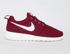 #Nike Roshe Run Burgundy
