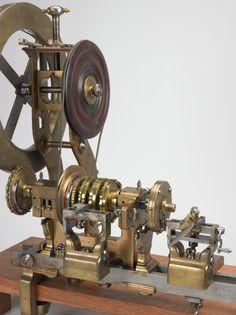 A Rose engine lathe belonging to Lord Macclesfield, 1740. jS