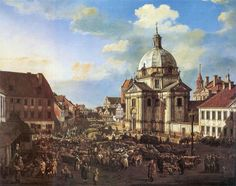 Canaletto, painter of Warsaw   New Town Square
