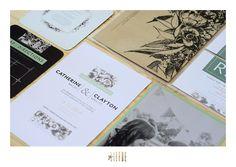 clayton + cath || wedding invite || geliefde studio Invite, Wedding Invitations, Stationery, Studio, Books, Stationery Shop, Libros, Paper Mill, Wedding Invitation Cards