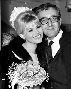1964: Swedish actress and singer Britt Ekland 22 and English actor comedian Peter Sellers 38 were married at the Guildford Register Office, Guildford, Surrey, England