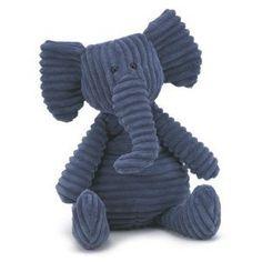 "Jellycat Plush Cordy Roy Navy Blue Elephant 15"" by Jellycat, http://www.amazon.com/dp/B001PNWLR6/ref=cm_sw_r_pi_dp_bmLcsb0Q5QQNC"