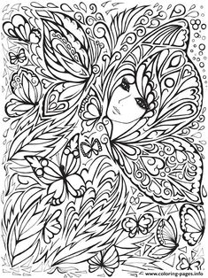 Creative Haven Fanciful Faces Adults 5 Coloring Pages Printable And Book To Print For Free Find More Online Kids Of