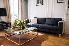 Libby & Tim's Natural & Glamorous Parisian Flat — House Tour | Apartment Therapy