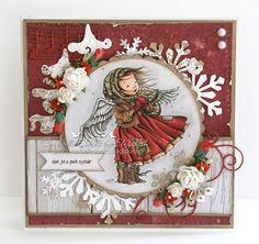 Cardville- Cards by Elizabeth: DT Bikuben: Ragged Angel