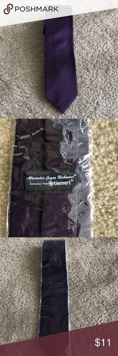 NWT Eggplant purple tie NWT Eggplant purple tie Accessories Ties