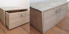 Bent u op zoek naar een houten kist? Wij maken mooie opbergkisten van steigerhout al vanaf € 59,95. Bekijk nu onze collectie op onze site!