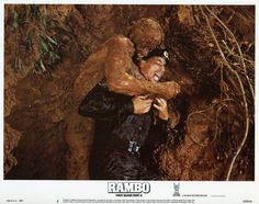 rambo: first blood part II, Stallone, lobby card