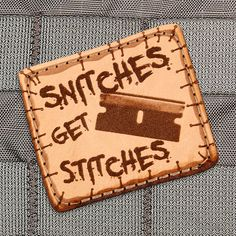 Stitches Morale Patch