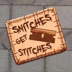 Stitches Morale Patch