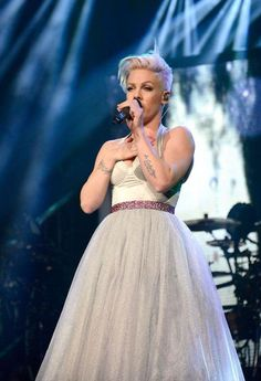 P!nk in. Her. Lol. Cinderella. Dress. ;-$
