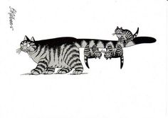 Kliban cat's