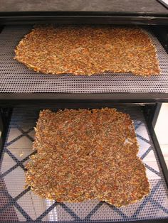 A Cultivated Kitchen: Flax and Carrot Crackers