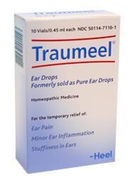 Traumeel Ear Drops/Pure 10vials