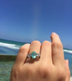 terça azul! #turmalinaparaiba #jewel #genstone #kenoaresort #ring #love
