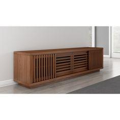 Furnitech 82-inch Contemporary Rustic TV Stand Media Console