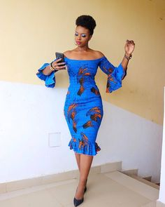 Most stylish collection of ankara short gown styles of 2019 trending today, try these short ankara gown styles Latest Ankara Short Gown, Short African Dresses, Ankara Short Gown Styles, Latest African Fashion Dresses, Short Gowns, African Print Dresses, African Print Fashion, African Prints, Trendy Ankara Styles