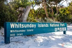 Whitsunday Islands National Park, Australia. Very Special Place & Yes the Sand is this white & fine.