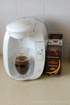 Simmworks Family Blog: Bosch Tassimo T20 Review: Coffee Done the Right Way