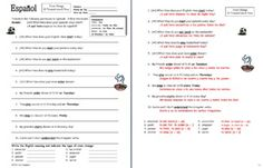 gramatica a stem changing verbs answers