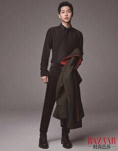 Song Joong Ki - Harper's Bazaar China Spreads Lee Dong Wook, Lee Jong Suk, Lee Joon, Ji Chang Wook, Park Hae Jin, Park Seo Joon, Hot Korean Guys, Korean Men, Korean Celebrities