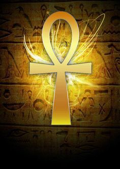 A Metaphysical Viewpoint of Sexuality, the Ankh, Purity & Twin Flames, w. Egyptian Mythology, Egyptian Symbols, Egyptian Art, Ankh Symbol, Arte Alien, Ancient Egypt Art, Isis Goddess, Mellow Yellow, Gods And Goddesses