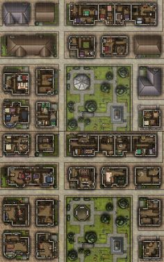 [Battlemap] Midhsommar - A Suburban Town with Dark Secrets : FantasyMaps Dnd World Map, Fantasy City Map, Call Of Cthulhu Rpg, Rpg Map, Fantasy Battle, Dungeon Maps, Dungeons And Dragons Homebrew, Conquistador, Tabletop Rpg