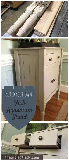 Die besten 25 selber bauen aquarium ideen auf pinterest - Aquariumschrank selber bauen ...