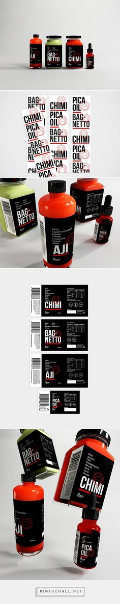 TEK Sauces packaging on Behance by Bardo curated by Packaging Diva PD. Let's go cook something.