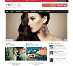 _CTPG_: Template Blogspot - Bright - Responsive - phong cá...