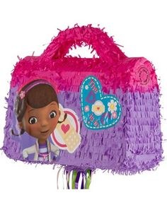 Pull String Doctor Bag Doc McStuffins Pinata 14in x 17in x 6in - Party City $19.99