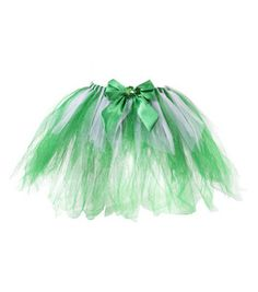Irish Neon Tutu Skirt diamante 80/'s Fancy Dress Party Costume St Patrick/'s Day