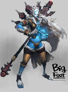 BIGFOOT游戏原画-肆
