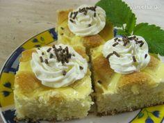 Jemný tvarohový koláčik (fotorecept) - Recept