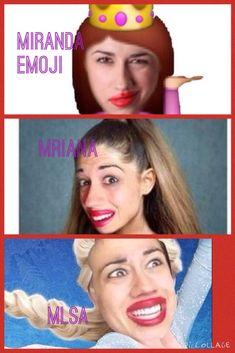 Miranda sing as Ariana grande elsa and a emoji