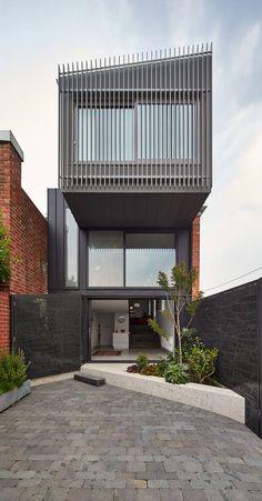 Minimalism in Melbourne - desire to inspire - desiretoinspire.net - Julie Firkin Architects