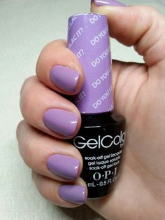 "OPI GelColor ""Do You Lilac It?"""