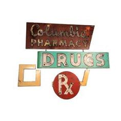 antique pharmacy signs - - Yahoo Image Search Results