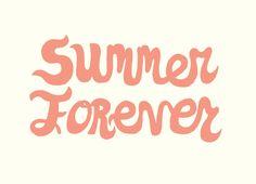 """""""Summer Forever"""" - Threadless.com - Best t-shirts in the world"""