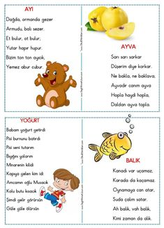 Learning Arabic, Kids Learning, Turkish Lessons, Learn Turkish Language, Reading Activities, Stories For Kids, Ms Gs, Baby Knitting Patterns, Primary School