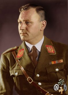 "Viktor Lutze (December 28, 1890 – May 2, 1943) was the commander of the Sturmabteilung  (""SA"") succeeding Ernst Röhm as Stabschef. He died from injuries received in an automobile accident. Lutze was given an elaborate state funeral in Berlin on May 7, 1943."