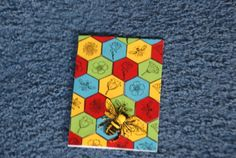 Bee on Michael Strong stamp