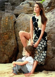Alessandra Ambrosio by Patrick Demarchelier for Glamour US - Marni