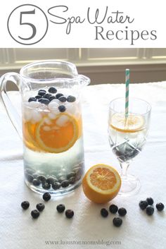 The 5 Best Spa Water Recipes | Houston Moms Blog