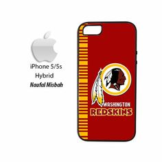 Washington Redskins Inspired iPhone 5/5s HYBRID Case Cover