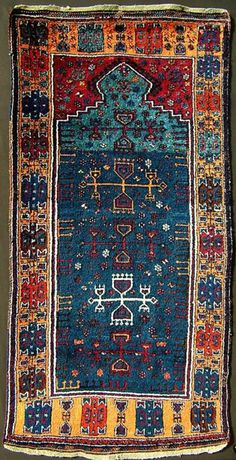 Yuruk prayer carpet / rug.