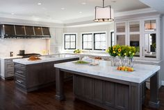 vanity cabinetry color   Traditional Kitchen with Rustic Touches - traditional - Kitchen - Dc Metro - JACK ROSEN CUSTOM KITCHENS