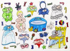 JOHN * 1500 free paper dolls from artist Arielle Gabriel The International Paper Doll Society for Pinterest paper doll pals * Vintage Paper Dolls, Retro Toys, Art Pages, Free Paper, Paper Goods, Baby Dolls, Doodles, Snoopy, Paper Crafts