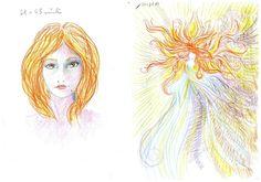 Mulher desenhou autorretratos enquanto estava sob efeito de LSD. Foram 11 desenhos feitos ao longo de mais de nove horas.